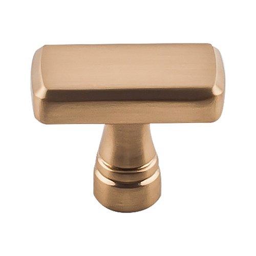 "Top Knobs Devon Kingsbridge Knob 1-3/8"" Dia Honey Bronze TK850HB"