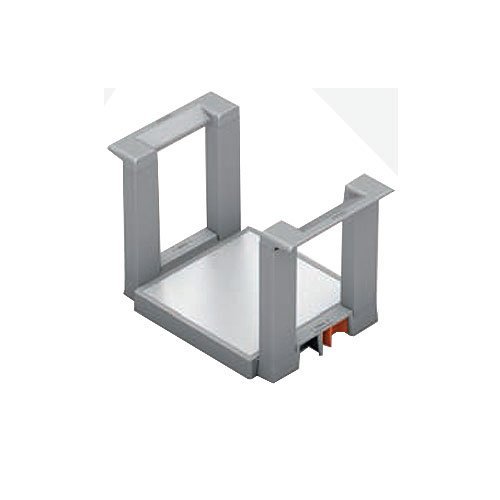 Blum Legrabox Plate Holder Orion Gray & Stainless ZC7T0350