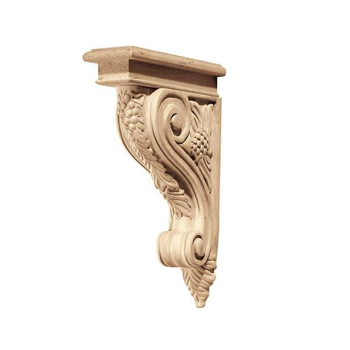 "Hafele Bordeaux Corbel 2-7/8"" X 12-3/4"" Red Oak 194.69.407"