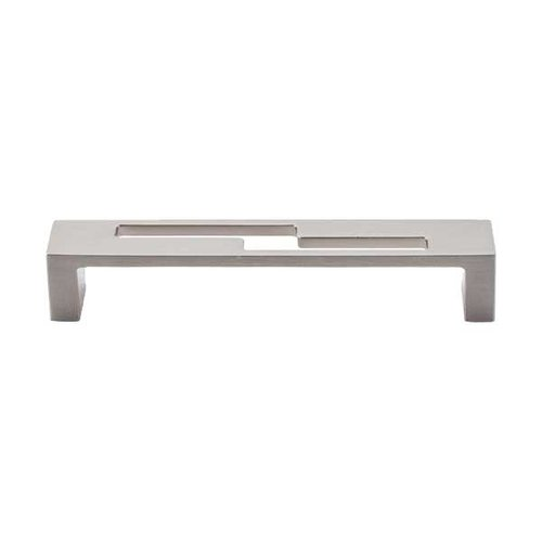 Top Knobs Sanctuary II 5 Inch Center to Center Brushed Satin Nickel Cabinet Pull TK254BSN