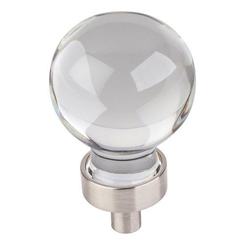 Jeffrey Alexander Harlow Cabinet Knob 1-1/16 inch Diameter - Satin Nickel G130SN