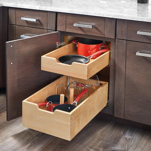 Rev-A-Shelf Standard Drawer for 18 inch Cabinet with Blum Slides 4WDB4-PIL-18SC-1