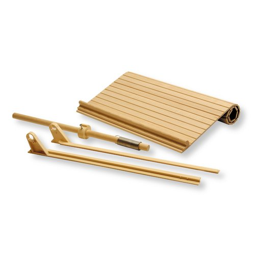"""Omega National Products 15"""" Wide Tambour Door Kit - Hickory C02-SHI-1"""