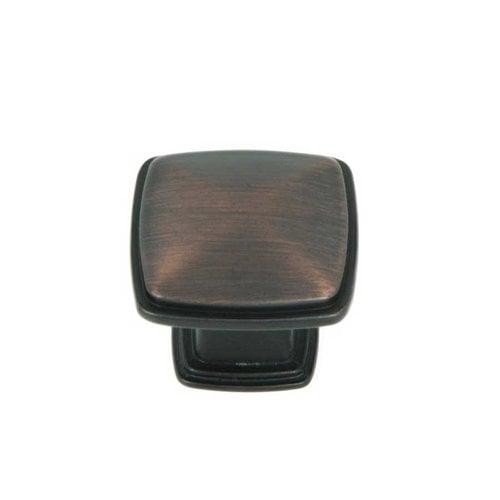Stone Mill Hardware Milan 1-1/4 Inch Diameter Oil Rubbed Bronze Cabinet Knob CP81091-OB