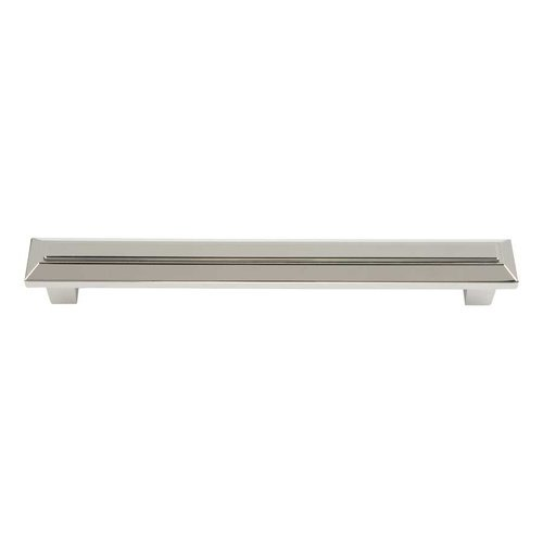 Atlas Homewares Trocadero 6-5/16 Inch Center to Center Polished Nickel Cabinet Pull 284-PN