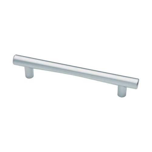 Liberty Hardware Modern 5-1/16 Inch Center to Center Dull Chrome Cabinet Pull 62312DC