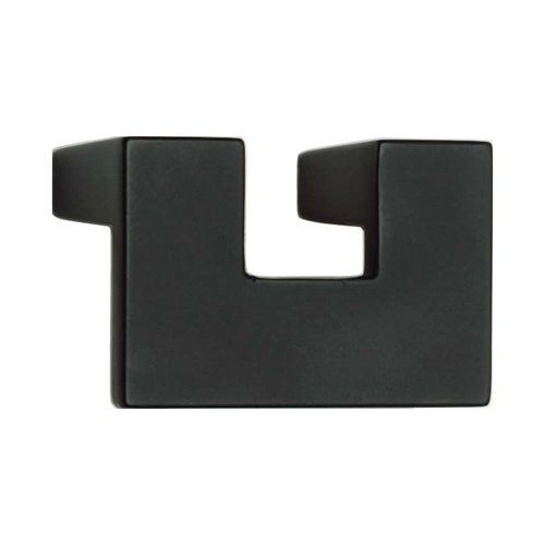 Atlas Homewares U-Turn 1-1/4 Inch Center to Center Black Cabinet Pull A845-BL