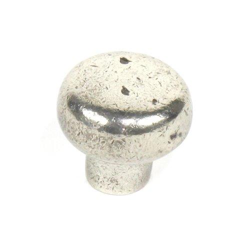 Century Hardware Whistler 1-3/8 Inch Diameter White Bronze Cabinet Knob 19607-WBA