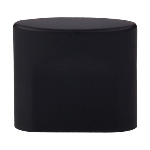 Top Knobs Sanctuary 3/4 Inch Center to Center Flat Black Cabinet Knob TK73BLK