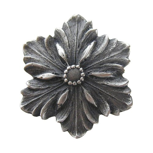 Notting Hill Classic 1-5/8 Inch Diameter Antique Pewter Cabinet Knob NHK-125-AP