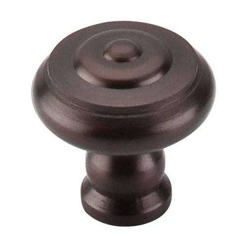 Top Knobs Normandy 1-1/8 Inch Diameter Oil Rubbed Bronze Cabinet Knob M769