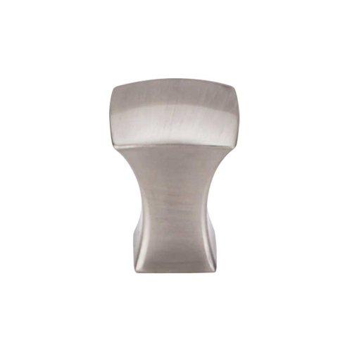 Top Knobs Mercer 3/4 Inch Diameter Brushed Satin Nickel Cabinet Knob TK550BSN