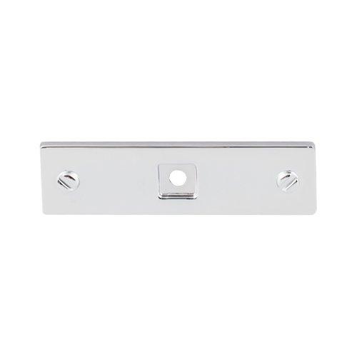 Top Knobs Barrington 3 Inch Length Polished Chrome Back-plate TK741PC