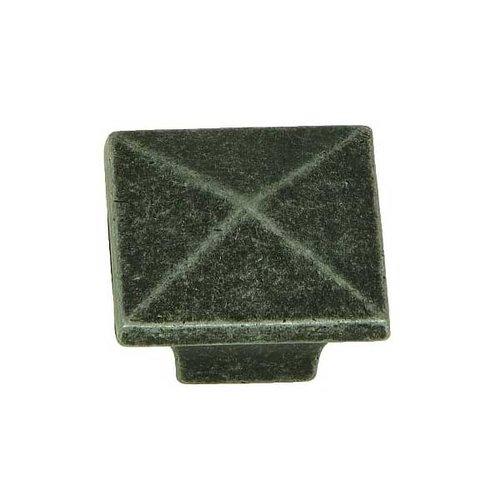 Stone Mill Hardware Milan 1-1/4 Inch Diameter Swedish Iron Cabinet Knob CP53082-SI