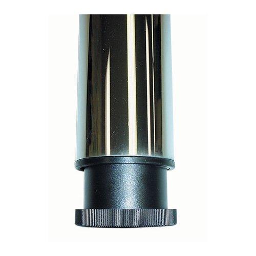 "Peter Meier Prisma Table Leg Set Polished Steel 27-3/4"" H 330-70-ST"