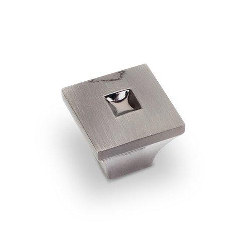 Jeffrey Alexander Modena 1 Inch Diameter Satin Black Nickel Cabinet Knob 910S-SBN