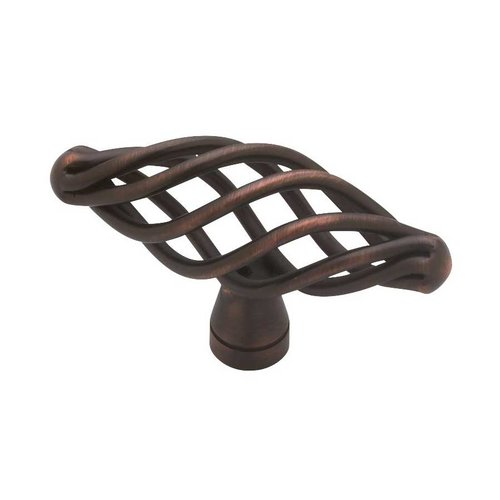 Liberty Hardware Forged Iron 2-1/2 Inch Diameter Bronze W/Copper Highlights Cabinet Knob P0528A-VBR-C