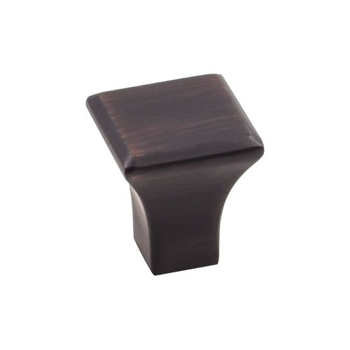 "Jeffrey Alexander Marlo Knob 7/8"" Long Brushed Oil Rubbed Bronze 972S-DBAC"
