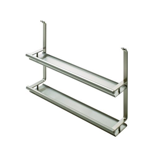 Kessebohmer Spice Rack For Backsplash Rail System Stainless Look 521.61.625