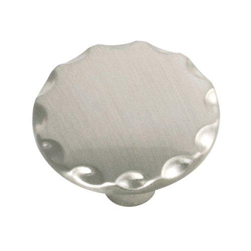 Hickory Hardware Cavalier 1-1/8 Inch Diameter Satin Nickel Cabinet Knob P146-SN