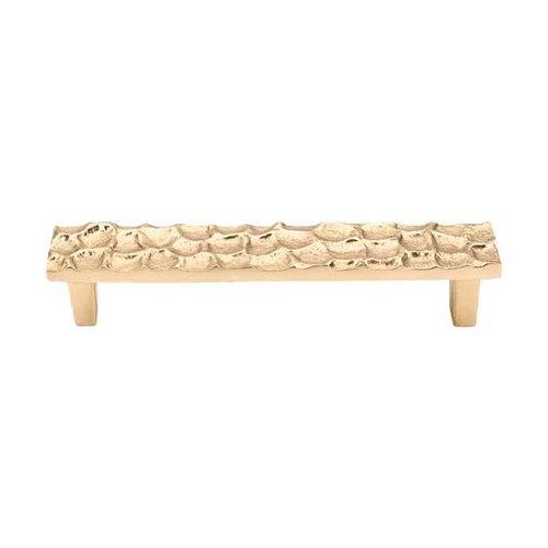 Top Knobs Cobblestone 5-1/16 Inch Center to Center Brass Cabinet Pull TK305BR