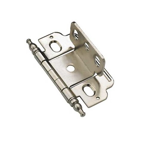 Amerock Full Inset Minaret Tip Hinge Nickel - Sold Each PK3180TM14