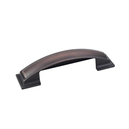 Jeffrey Alexander Annadale 3-3/4 Inch Center to Center Brushed Oil Rubbed Bronze Cabinet Cup Pull 436-96DBAC