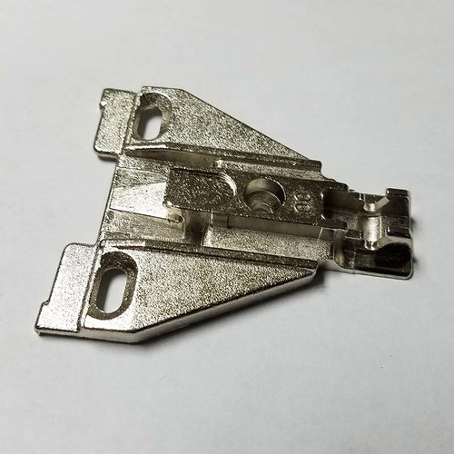 Grass Nexis Face Frame Screw On Mounting Plate 0MM Height 346.290.88.0015