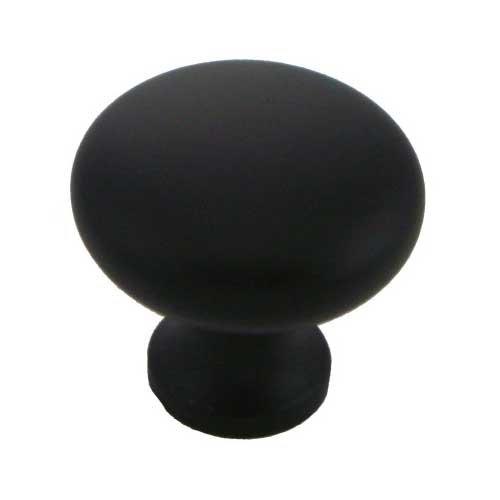 MNG Hardware Vanilla 1-1/4 Inch Diameter Oil Rubbed Bronze Cabinet Knob 16513