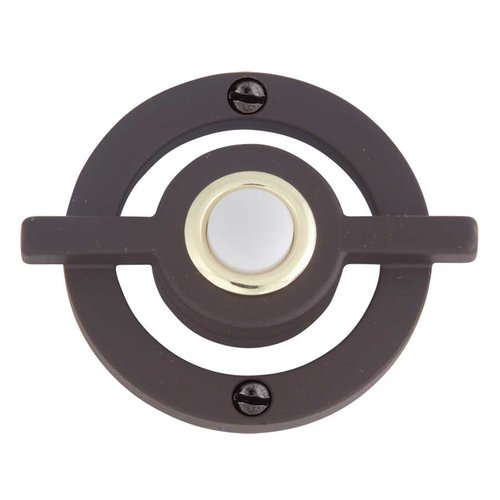 Avalon Lighted Doorbell Button Aged Bronze <small>(#DB643-O)</small>