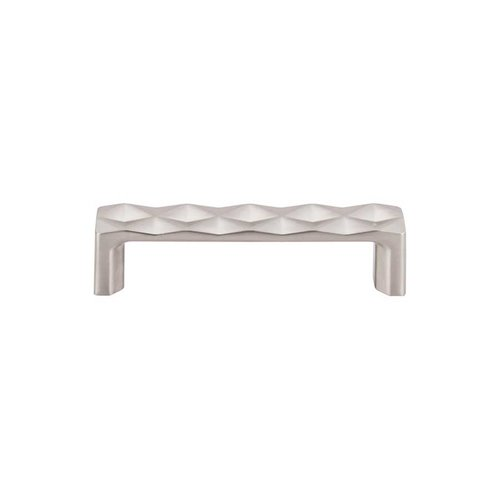 Top Knobs Mercer 3-3/4 Inch Center to Center Brushed Satin Nickel Cabinet Pull TK561BSN