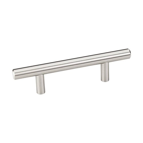 Elements by Hardware Resources Naples 3 Inch Center to Center Satin Nickel Cabinet Pull 136SN