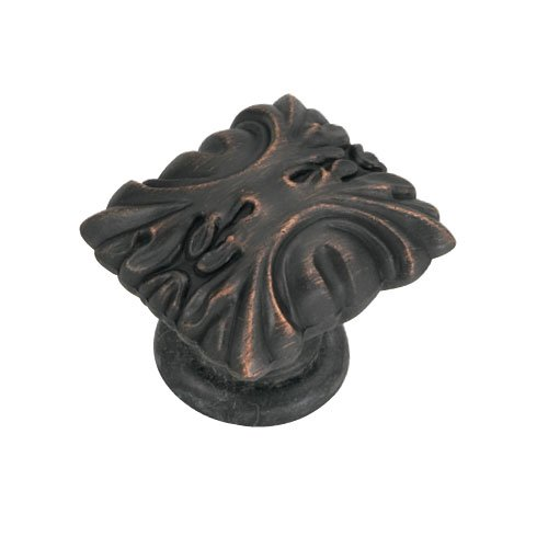 Hickory Hardware Ithica 1-5/16 Inch Length Vintage Bronze Cabinet Knob P3430-VB