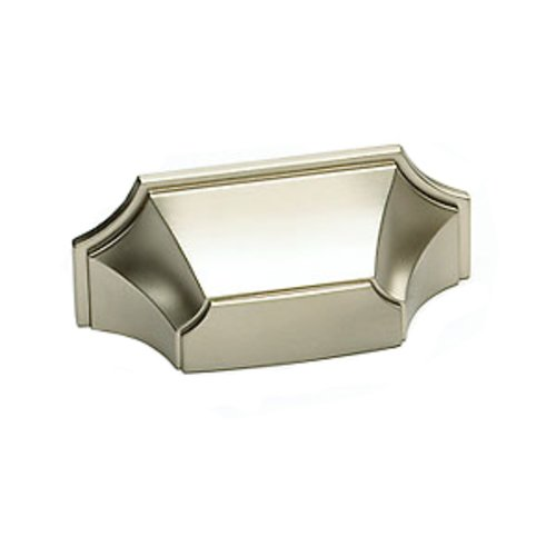 Schaub and Company Empire Designs 3 Inch Center to Center Satin Nickel Cabinet Cup Pull 878-15