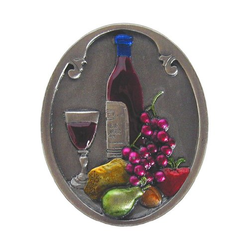 Notting Hill Tuscan 1-1/2 Inch Diameter Pewter Hand Tinted Cabinet Knob NHK-140-PHT