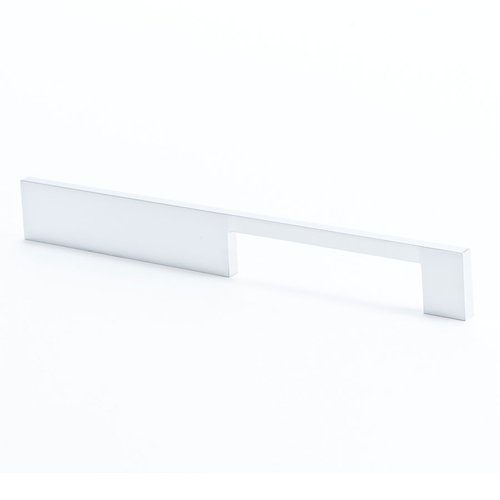 R. Christensen I-Spazio 7-9/16 Inch Center to Center Dull Chrome Cabinet Pull 9295-10DC-C