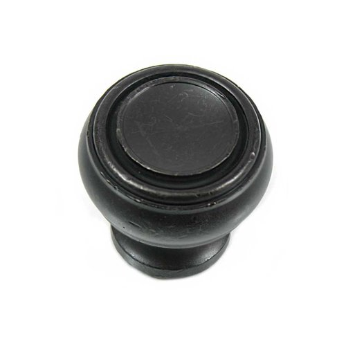 MNG Hardware Balance 1-1/4 Inch Diameter Oil Rubbed Bronze Cabinet Knob 85013
