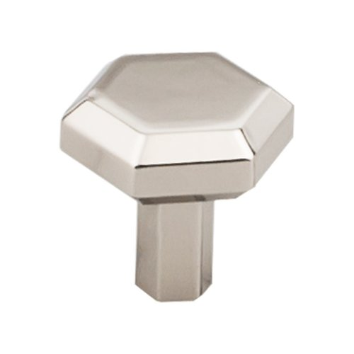 Serene 1-1/8 Inch Diameter Polished Nickel Cabinet Knob <small>(#TK791PN)</small>
