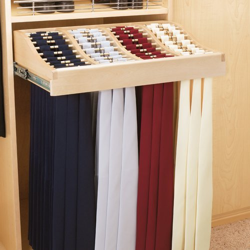 "24"" Tie Rack-Wood <small>(#CWTR-241041-2)</small>"