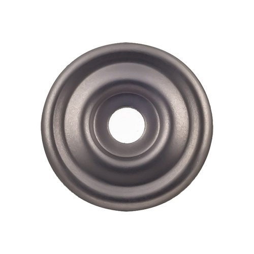 "Top Knobs Devon Brixton Backplate 1 3/8 "" Dia Ash Gray TK890AG"