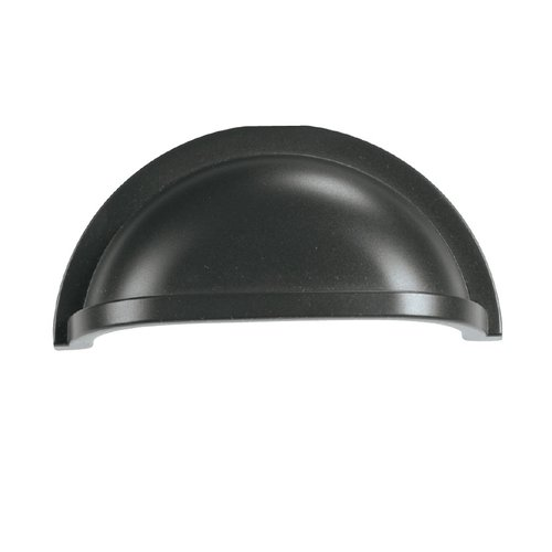 Hickory Hardware Williamsburg 3 Inch Center to Center Oil Rubbed Bronze Cabinet Cup Pull P3055-10B