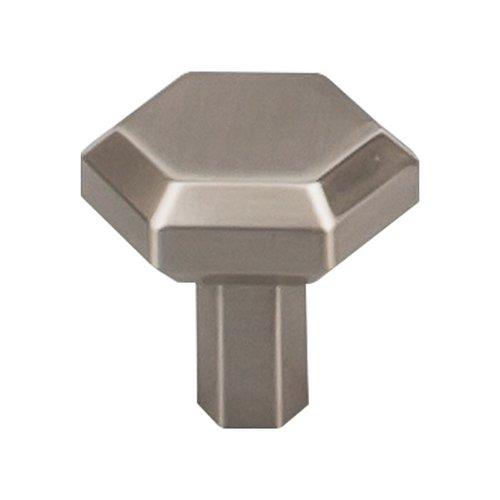 Top Knobs Serene 1-1/8 Inch Diameter Brushed Satin Nickel Cabinet Knob TK791BSN