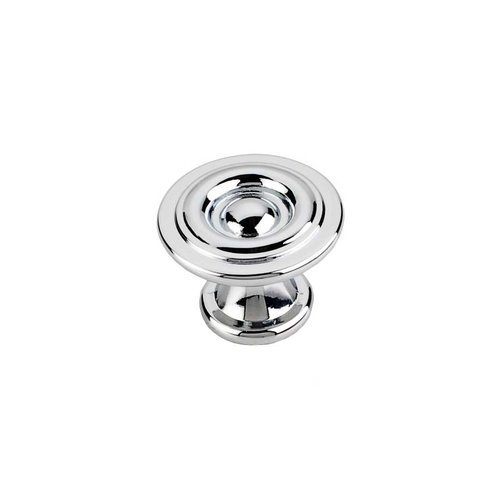 Elements by Hardware Resources Syracuse 1-3/16 Inch Diameter Polished Chrome Cabinet Knob 575PC