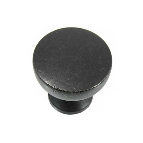 MNG Hardware Precision 1-1/4 Inch Diameter Oil Rubbed Bronze Cabinet Knob 85413