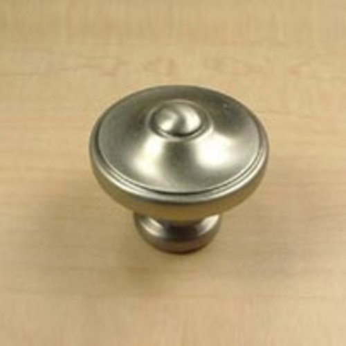 Century Hardware Country 1-3/8 Inch Diameter Dull Satin Nickel Cabinet Knob 29227-DSN