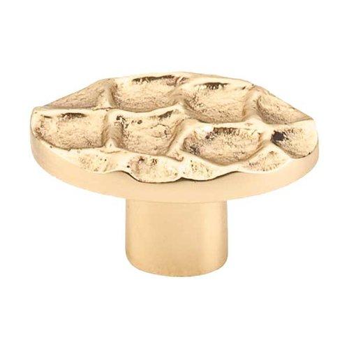 Top Knobs Cobblestone 2 Inch Diameter Brass Cabinet Knob TK298BR