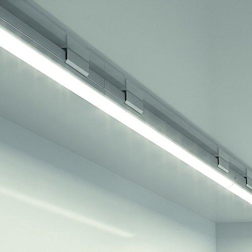Hafele Loox 2024 12V LED White Strip Light 10-1/4 inch Cool White 833.73.031