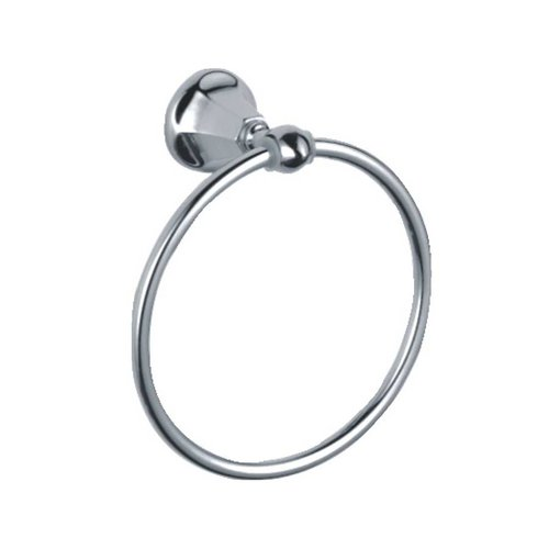 Paradise Bathworks Heaven Towel Ring Polished Chrome 61026