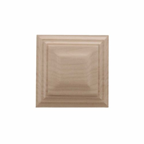 Brown Wood Small Triad Tile Unfinished Hard Maple 01901012HM1