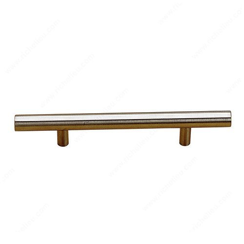 Richelieu Bar Pulls 28-1/8 Inch Center to Center Stainless Steel Cabinet Pull BP3487714170